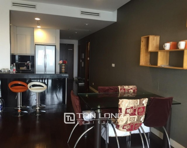 Attractive apartment with 3 bedrooms, 2 bathrooms for lease in Lancaster Hanoi 1