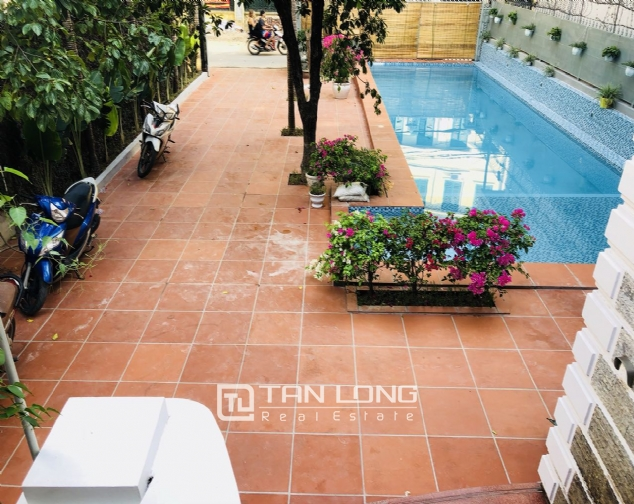 Awsome house with big swimming pool for rent in To Ngoc Van street! 8