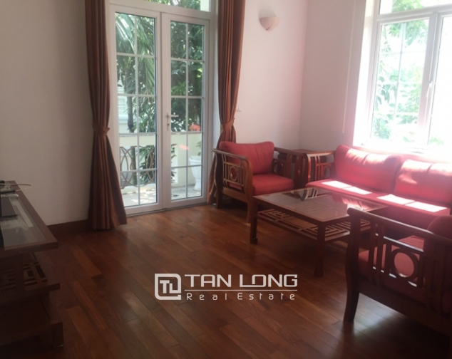 Awsome Villa T5 for Rent, Big Courtyard and Full Furniture in Ciputra, Tay Ho, Hanoi 8