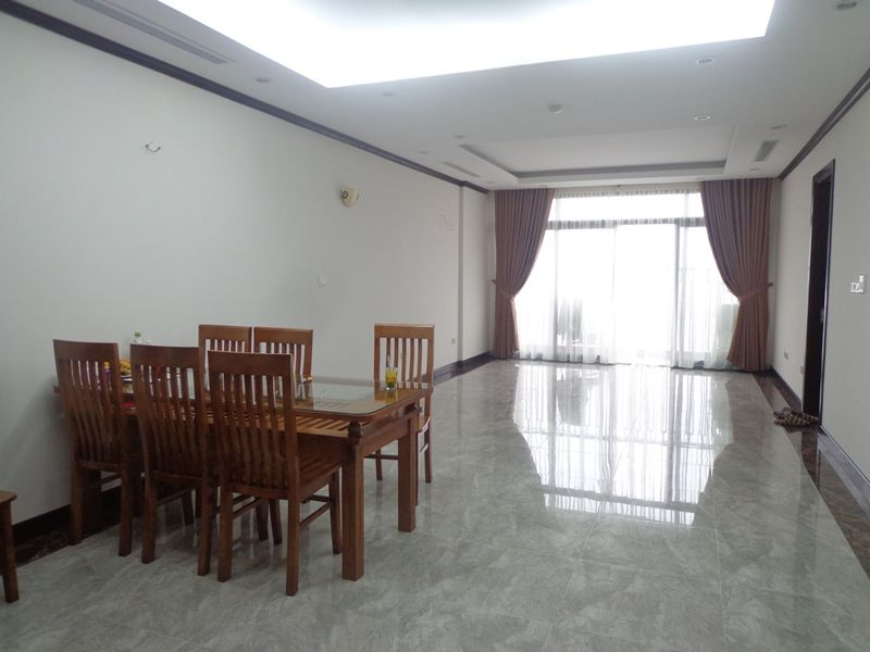 Basic furnished 2 bedroom apartment for rent in Plantinum Residence, Nguyen Cong Hoan str, Ba Dinh dist, Hanoi
