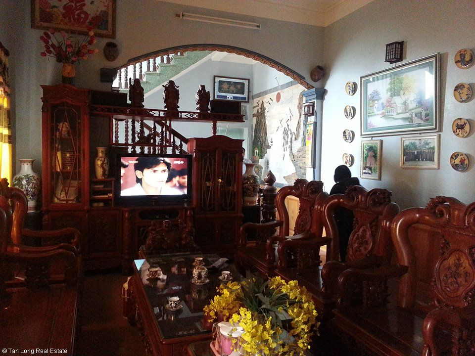 Beautiful 3.5 storey villa for rent in Nguyen Viet Xuan str, Ninh Xa, Bac Ninh city 2
