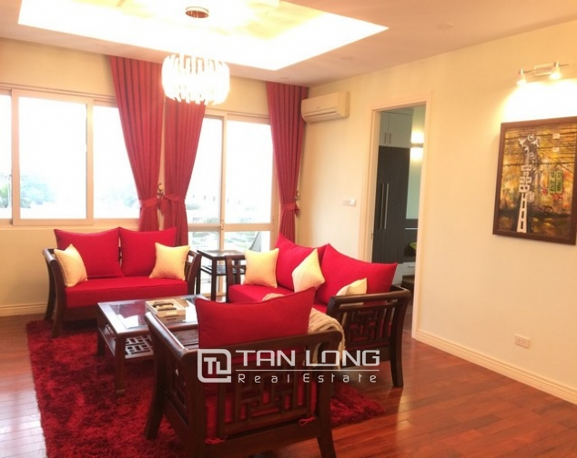 Beautiful 4 bedroom apartment for rent in E4, Ciputra 1