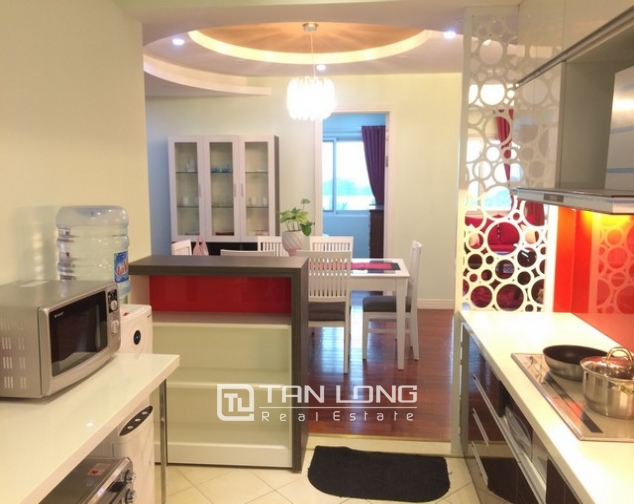 Beautiful 4 bedroom apartment for rent in E4, Ciputra 5