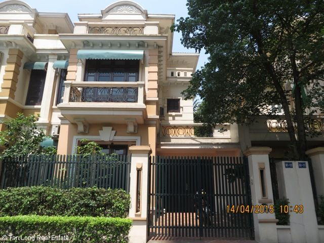 Beautiful 4 bedroom villa for rent in D3 Ciputra, fully furnished and bright 1