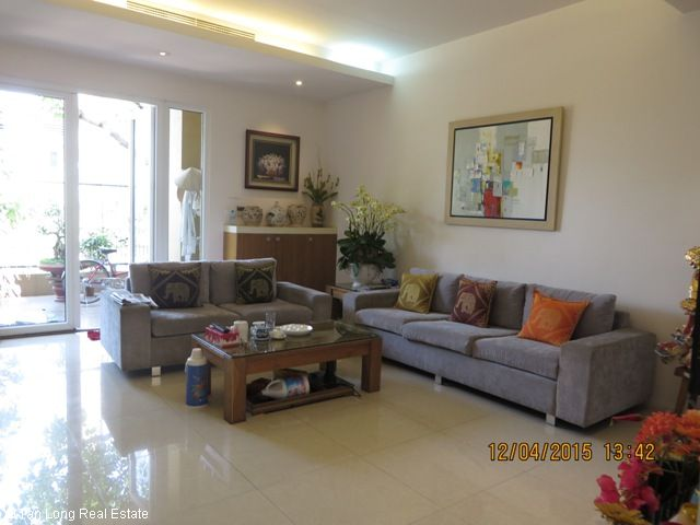 Beautiful 4 bedroom villa for rent in D3 Ciputra, fully furnished and bright 3