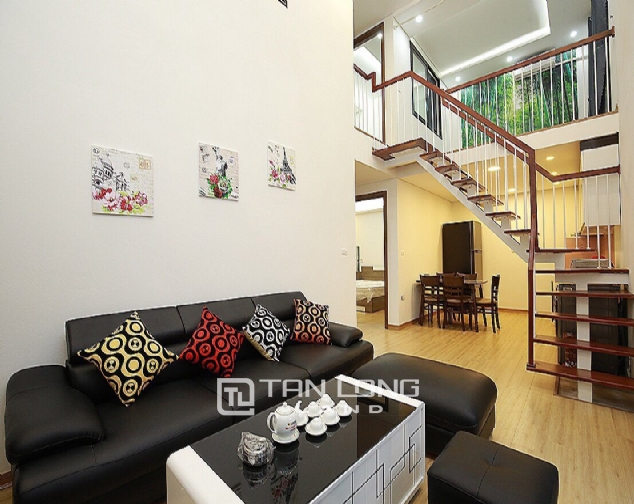 Beautiful 4-bedroom house for rent in 124 Au Co Str, Tay Ho Distr 3