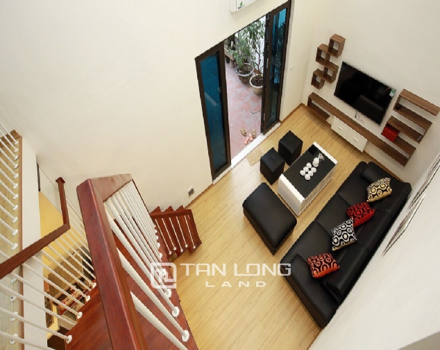 Beautiful 4-bedroom house for rent in 124 Au Co Str, Tay Ho Distr 6