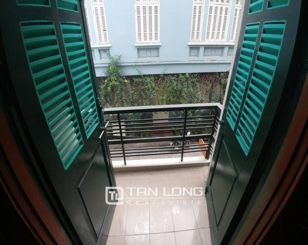 Beautiful 4-storey house for rent in Tran Quy Cap street 6