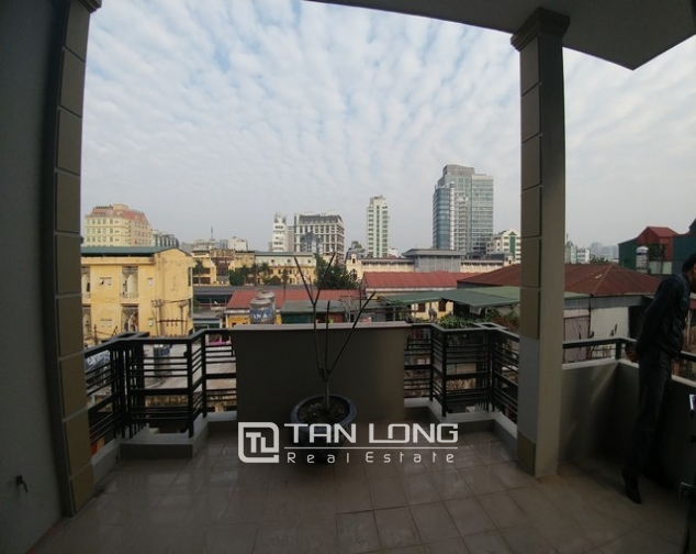 Beautiful 4-storey house for rent in Tran Quy Cap street 5