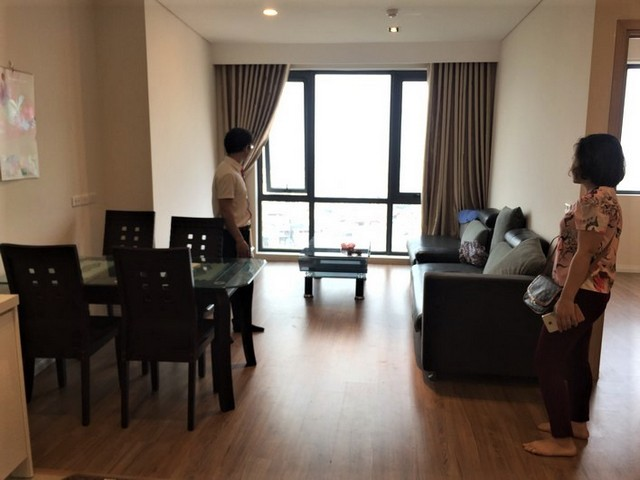Beautiful apartment  in Mipec Riverside, Long Bien district, Hanoi for rent