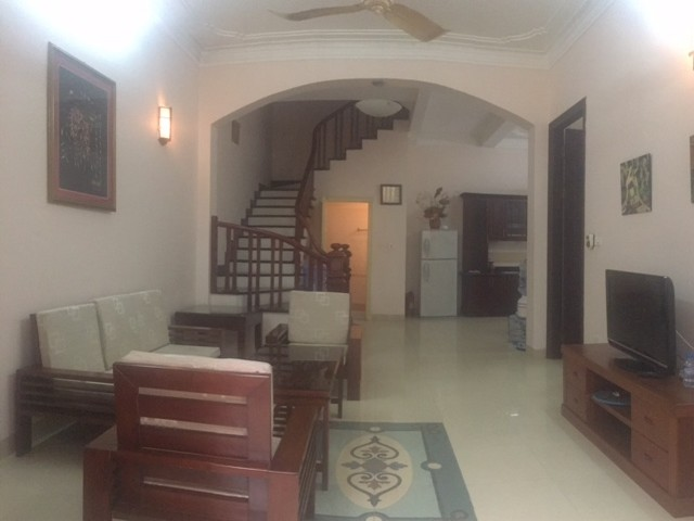 Beautiful house in Yen Phu street, Tay Ho district, Hanoi for rent