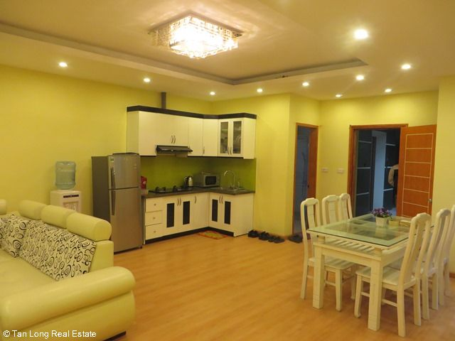 Beautiful serviced apartment for rent in Ngoc Lam street, Long Bien district 10