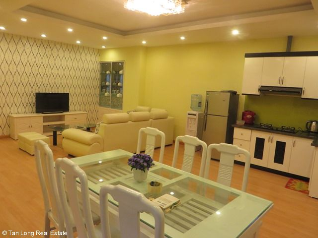 Beautiful serviced apartment for rent in Ngoc Lam street, Long Bien district 3