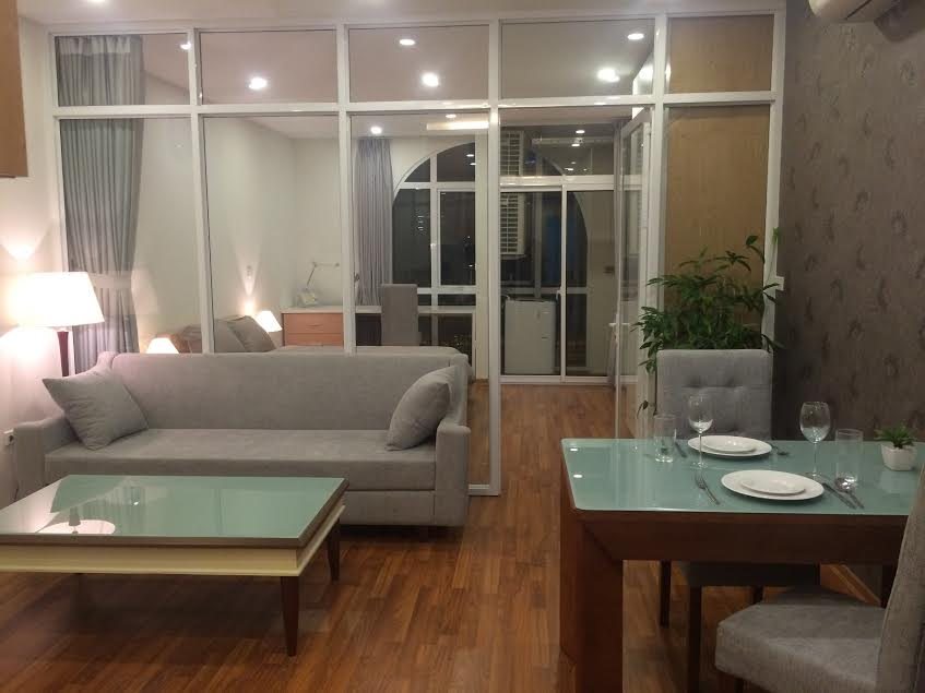 Beautiful serviced apartment for rent in Quan Hoa street, Nghia Do ward, Cau Giay district, Hanoi