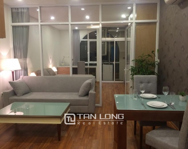 Beautiful serviced apartment for rent in Quan Hoa street, Nghia Do ward, Cau Giay district, Hanoi 1