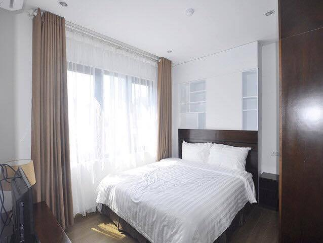 Beautiful serviced apartment for rent in Tran Thai Tong street, Cau Giay district, Hanoi