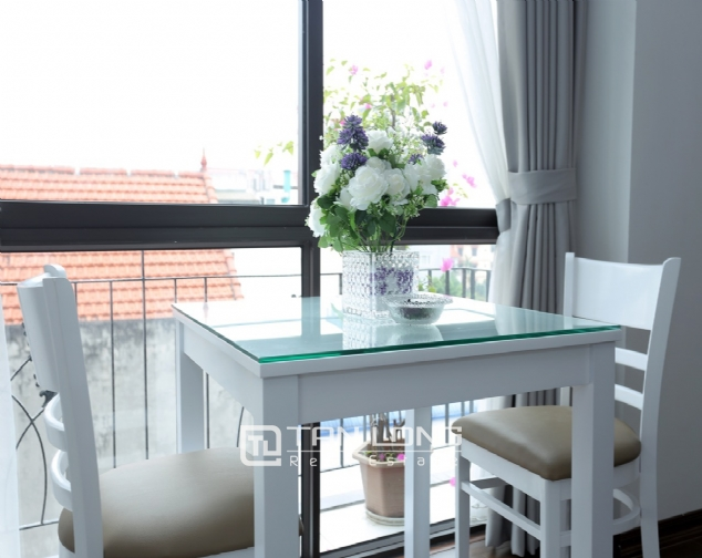 Beautiful serviced apartment for rent on To Ngoc Van, Tay Ho district 2