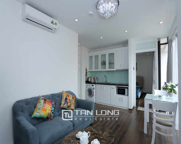 Beautiful serviced apartment for rent on To Ngoc Van, Tay Ho district 3