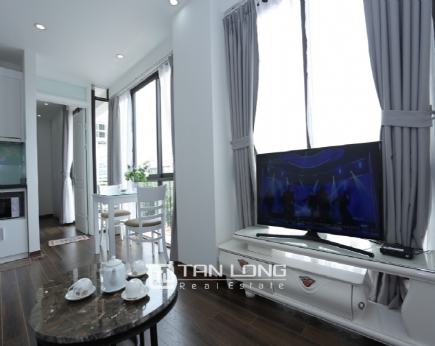 Beautiful serviced apartment for rent on To Ngoc Van, Tay Ho district 5