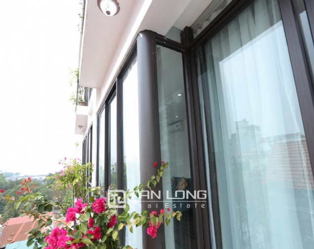 Beautiful serviced apartment for rent on To Ngoc Van, Tay Ho district 8