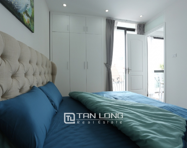 Beautiful serviced apartment for rent on To Ngoc Van, Tay Ho district 9