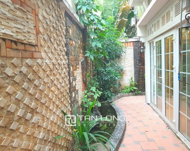 Beautiful villa in T4 Ciputra, Tay Ho district for rent 3