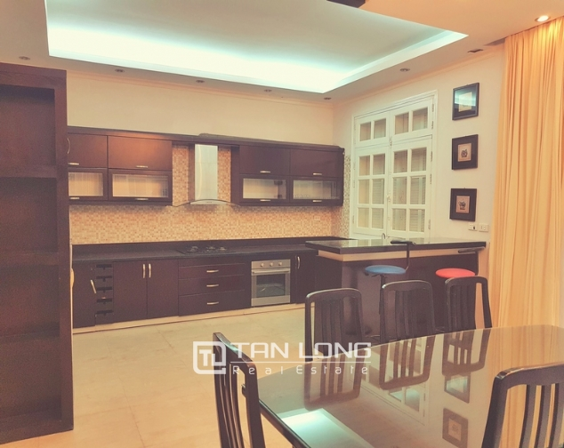 Beautiful villa in T4 Ciputra, Tay Ho district for rent 8