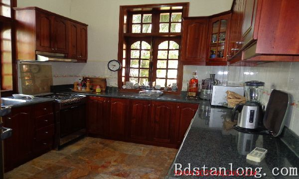 Beautiful villa rental in To Ngoc Van street, Tay Ho dist, Hanoi 6
