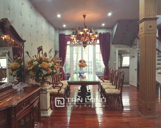 Beautiful villas in  T4, Ciputra, Tay Ho district Hanoi for rent 2