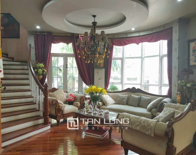 Beautiful villas in  T4, Ciputra, Tay Ho district Hanoi for rent 3