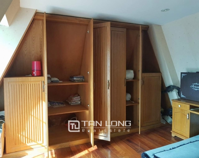 Beautiful villas in  T4, Ciputra, Tay Ho district Hanoi for rent 9