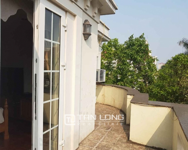 Beautiful villas in  T4, Ciputra, Tay Ho district Hanoi for rent 7