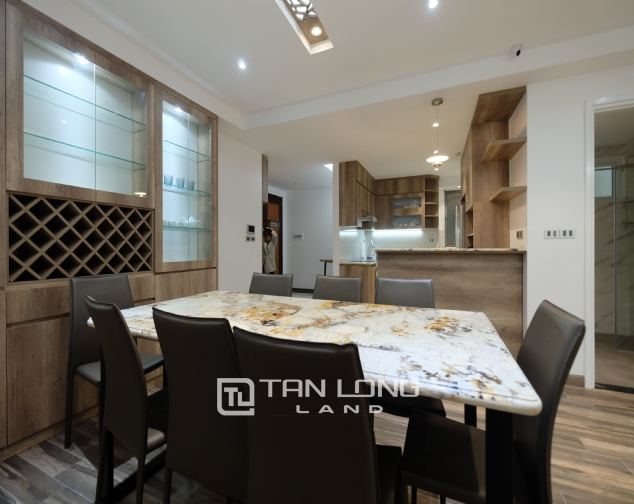 Beautiful Western 4 bedroom apartment for rent in block E4, Ciputra! 9
