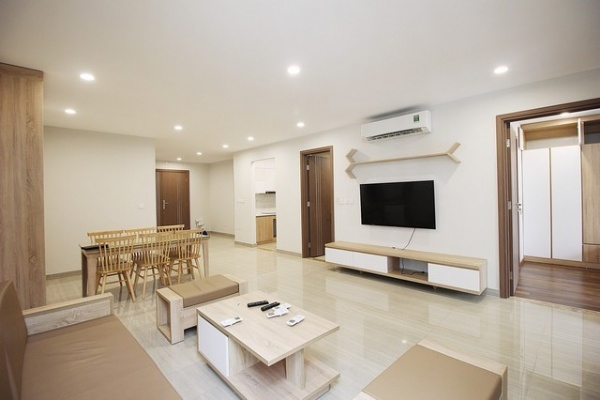 Best price and modern 3 bedroom apartment for lease in L3 tower The Link Ciputra
