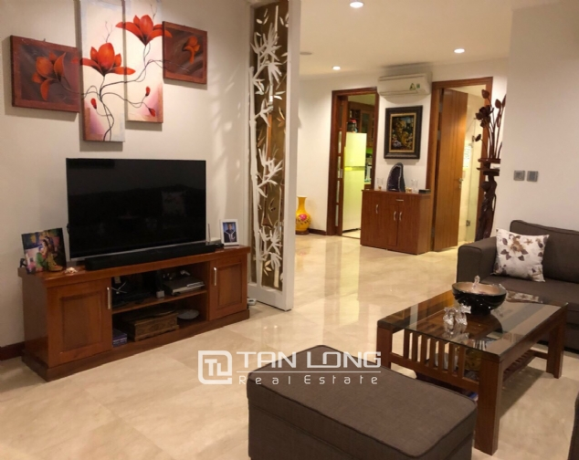 Brand new and nice 3 bedroom apartment for rent in L1 Ciputra, Tay Ho, Ha Noi 2