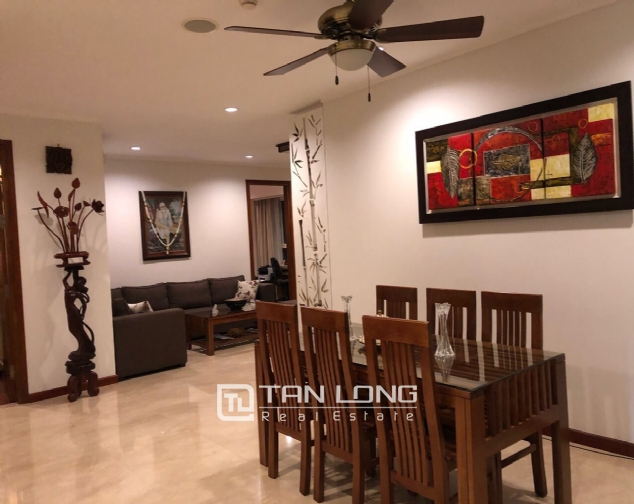 Brand new and nice 3 bedroom apartment for rent in L1 Ciputra, Tay Ho, Ha Noi 6