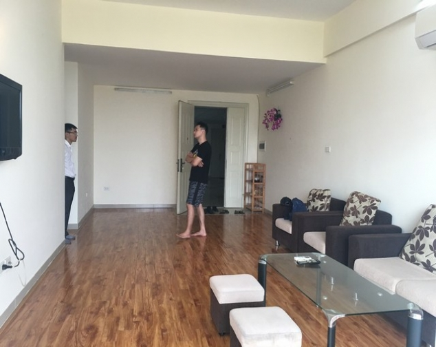 Brand new apartment with 3 bedrooms for rent in Tay Ho 2