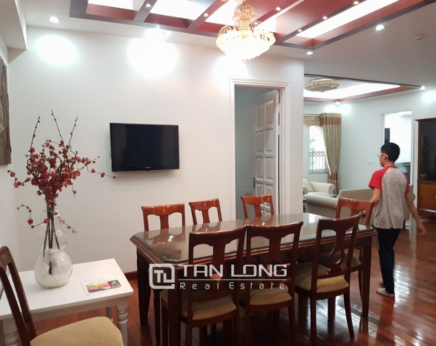 Brand new apartment with 4 bedrooms for rent in Ciputra 2