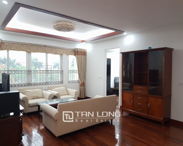 Brand new apartment with 4 bedrooms for rent in Ciputra 3