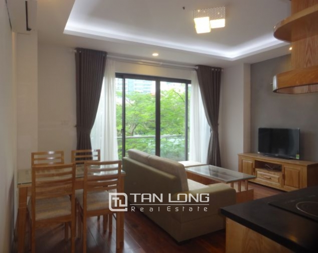 Brand-new 1 bedroom apartment in Truc Bach for lease, $700 2