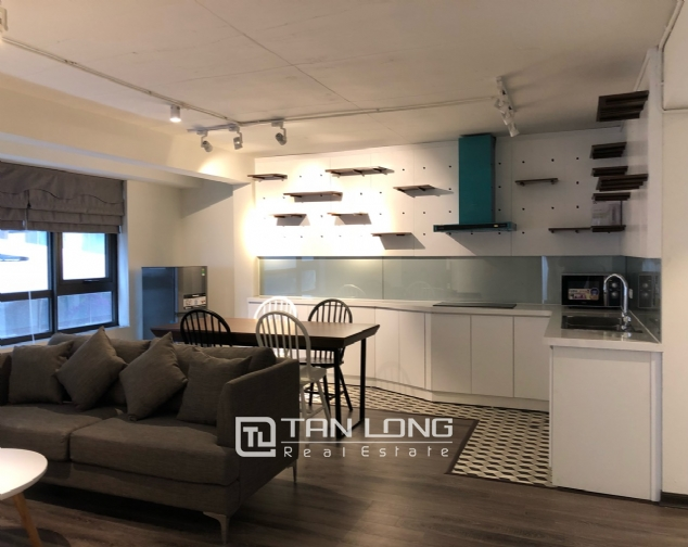 Brand-new 1-bedroom apartment for rent on Au Co street, Tay Ho district! 2