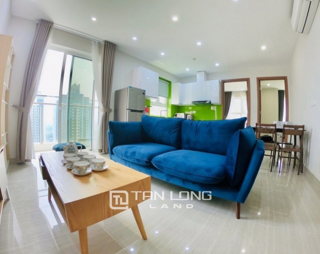 Bright 2 bedroom furnished apartment on high floor for rent in L4 The Link Ciputra 1