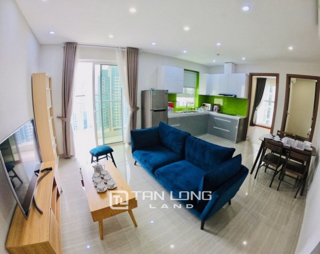 Bright 2 bedroom furnished apartment on high floor for rent in L4 The Link Ciputra 2