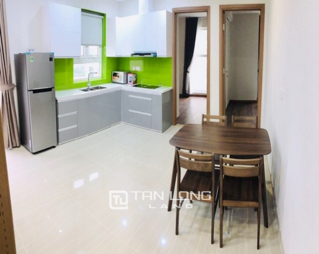 Bright 2 bedroom furnished apartment on high floor for rent in L4 The Link Ciputra 3