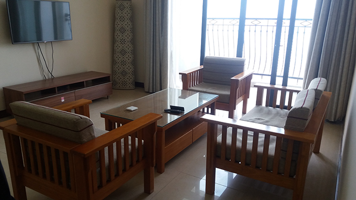 Bright 3 bedroom apartment for rent in R2 Vinhomes Royal City, Thanh Xuan dist