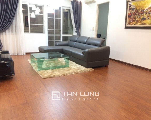 Bright and spacious 3 bedroom apartment for rent in E5 building Ciputra, Tay Ho 1
