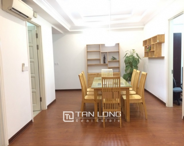 Bright and spacious 3 bedroom apartment for rent in E5 building Ciputra, Tay Ho 2