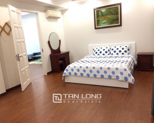 Bright and spacious 3 bedroom apartment for rent in E5 building Ciputra, Tay Ho 4