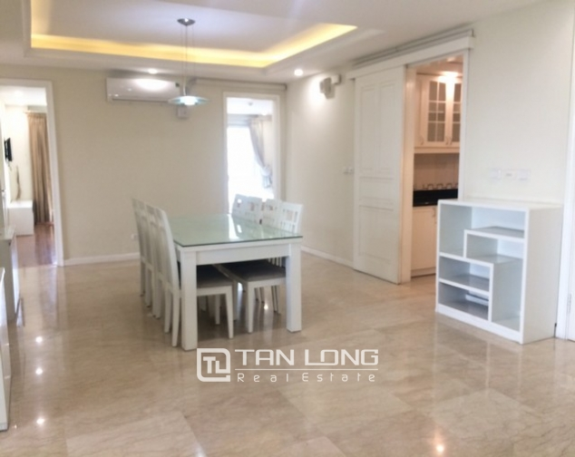Bright and spacious 4 bedroom apartment for rent in P2 Ciputra 4