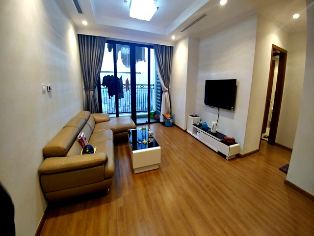 Bright and spacious two bedroom apartment for rent in R2, Royal City, Nguyen Trai str., Thanh Xuan dist., Hanoi